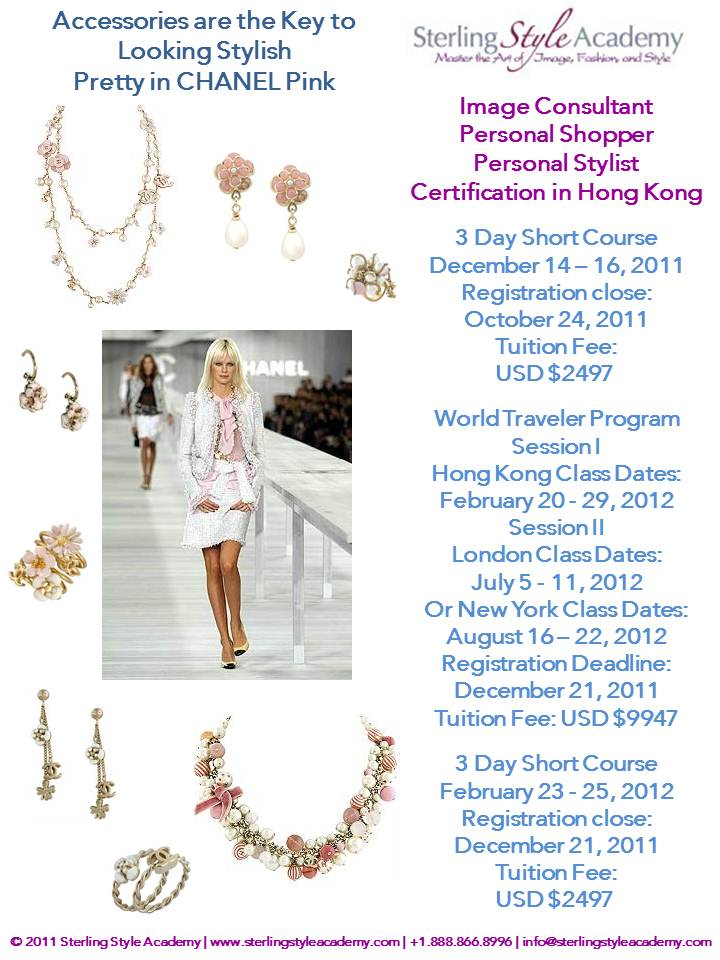 Sterling style academy image consultant training in hong Fashion design consultant