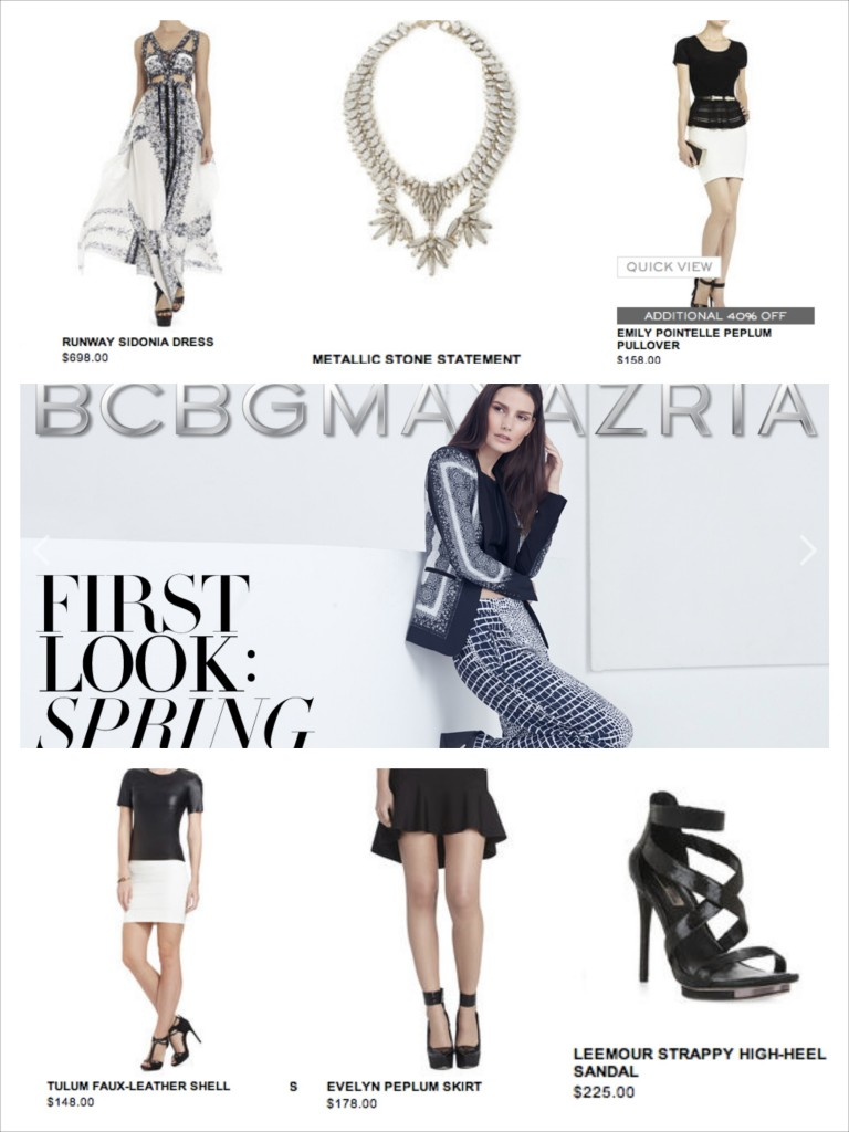 BCBG First Look at Spring 2014