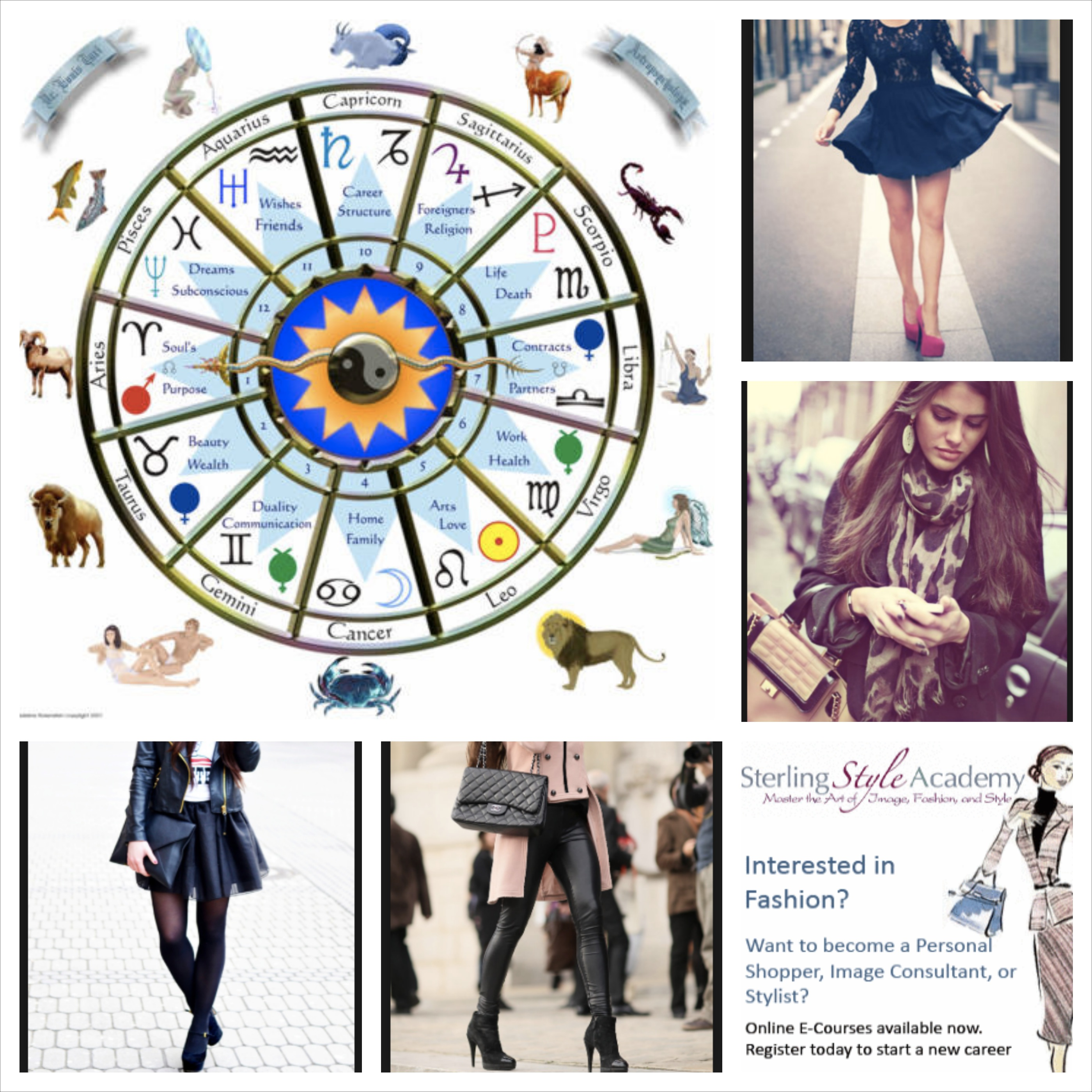 How Zodiac Signs Influence Fashion Sense And Style At Sterling Style Academy S Astrology Personal Style Consultant Stylist Training Program In Dubai Sterling Style Academy Blog Image Consultant Training