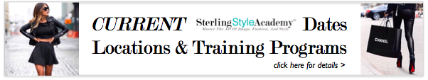 Current Dates, Locations & Training Programs | Sterling Style Academy
