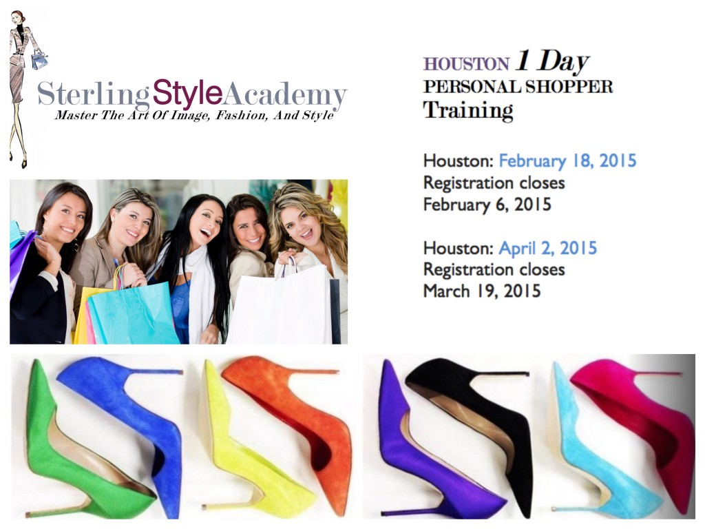 Houston Personal Shopper Training - 1 Day Program | Sterling Style Academy 2015