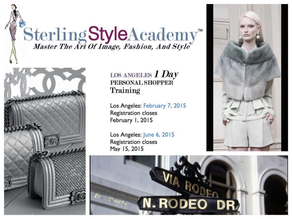 Los Angeles Personal Shopper Training | Sterling Style Academy