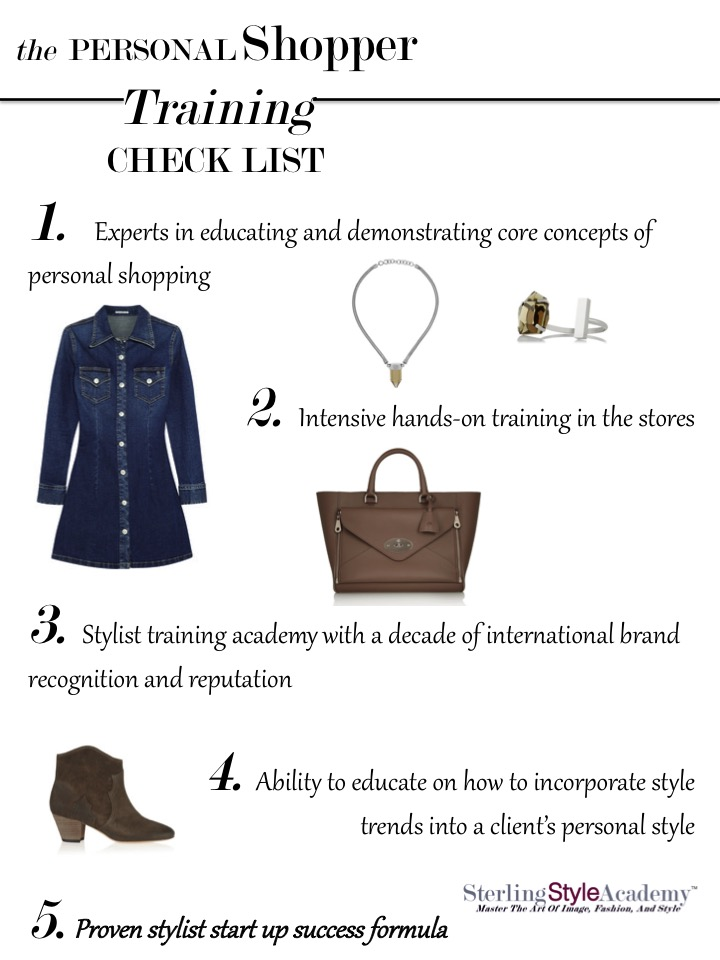 Personal Shopper Training | Sterling Style Academy