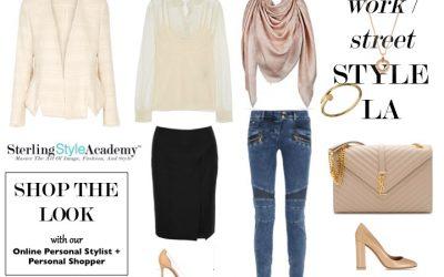 work - street style LA | Sterling Style Academy