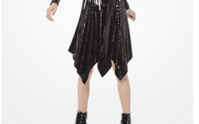 Michael Kors Sequined Handkerchief Dress