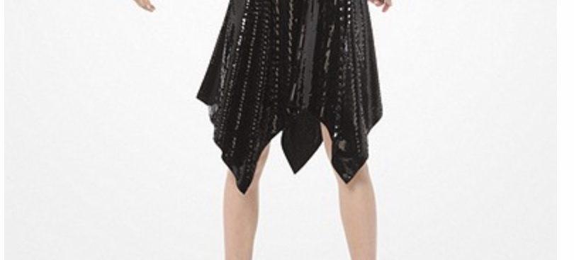 Michael Kors Sequined Handkerchief Dress
