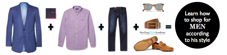 HOW TO SHOP FOR MEN ACCORDING TO HIS PERSONAL STYLE