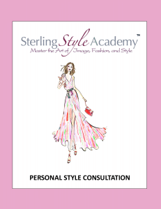 Personal Style Consultation Cover